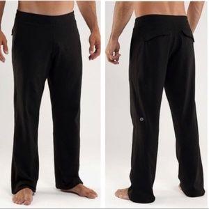 Lululemon Men kung fu pants size large tall black
